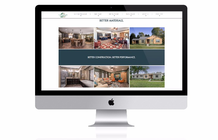 Franklin Homes Website